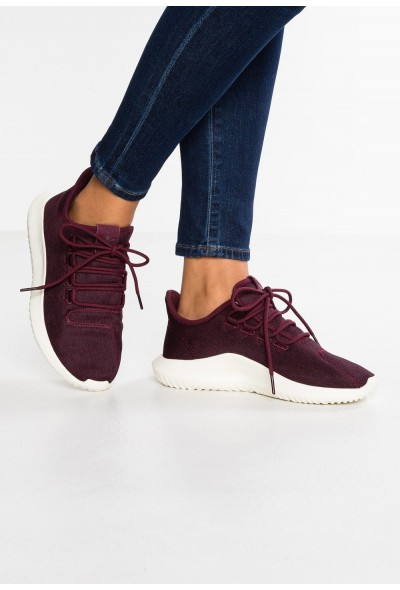 Adidas TUBULAR SHADOW - Baskets basses maroon/offwhite pas cher