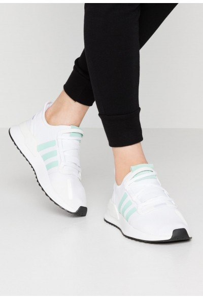 Adidas PATH RUN  - Baskets basses footwear white/clear mint/core black pas cher