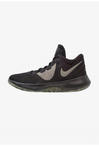 Nike AIR PRECISION II - Chaussures de basket black/dark stucco/cargo khaki/sequoia/beach liquidation