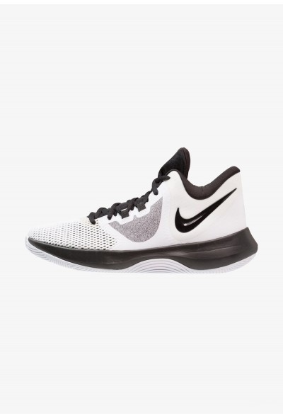Nike AIR PRECISION II - Chaussures de basket white/black liquidation