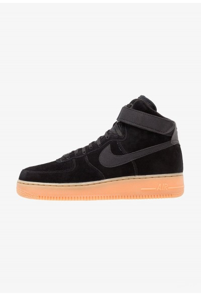 Nike AIR FORCE 1 HIGH 07 LV8 SUEDE - Baskets montantes black/medium brown/ivory liquidation