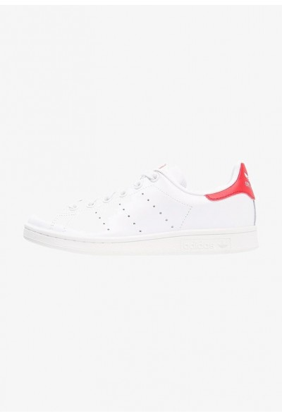 Black Friday 2020 | Adidas STAN SMITH - Baskets basses running white/collegiate red pas cher