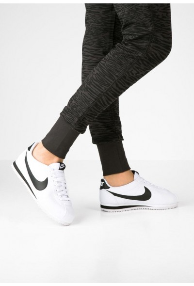 Nike CLASSIC CORTEZ - Baskets basses white/black liquidation