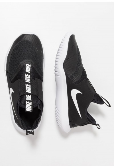 Black Friday 2020 | Nike FLEX RUNNER - Chaussures de running compétition black/white liquidation