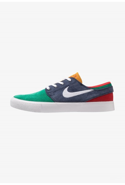 Nike ZOOM JANOSKI - Baskets basses lucid green/white/obsidian/university gold/university red/light brown liquidation
