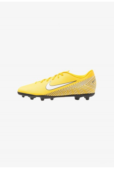 Nike MERCURIAL VAPOR 12 CLUB NJR MG - Chaussures de foot à crampons amarillo/white/black liquidation