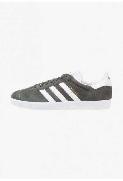 Adidas GAZELLE - Baskets basses solid grey/white/gold metallic pas cher
