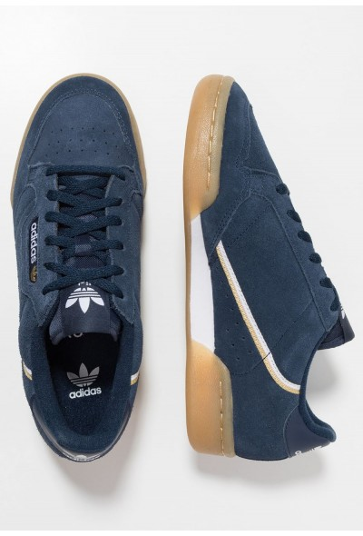 Adidas CONTINENTAL 80 - Baskets basses collegiate navy/footwear white/gold metallic pas cher