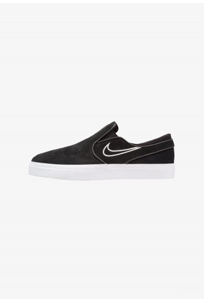 Nike ZOOM STEFAN JANOSKI - Mocassins black/light bone/white liquidation