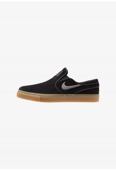 Nike ZOOM STEFAN JANOSKI - Mocassins black/gunsmoke/light brown liquidation