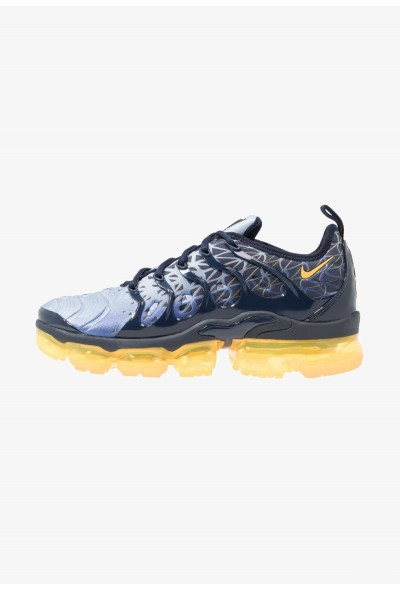 Nike AIR VAPORMAX PLUS - Baskets basses obsidian/laser orange/indigo storm/deep royal blue liquidation
