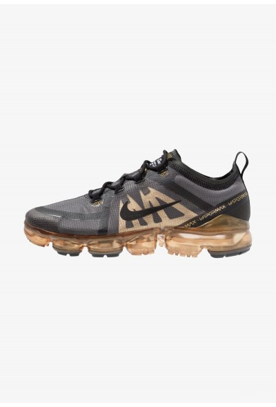 Black Friday 2019 | Nike AIR VAPORMAX 2019 - Chaussures de running neutres black/metallic gold liquidation