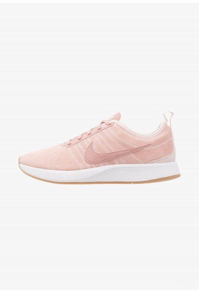 Nike DUALTONE RACER SE - Baskets basses red stardust/silt red/white/light brown liquidation