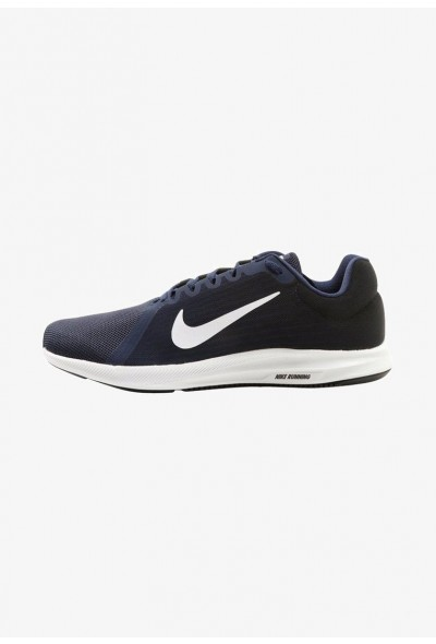 Cadeaux De Noël 2019 Nike DOWNSHIFTER 8 - Chaussures de running neutres midnight navy/white/dark obsidian/black liquidation