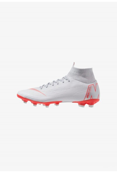 Black Friday 2020 | Nike MERCURIAL 6 PRO AG PRO - Chaussures de foot à crampons wolf grey/light crimson/pure platinum/metallic silver liquidation