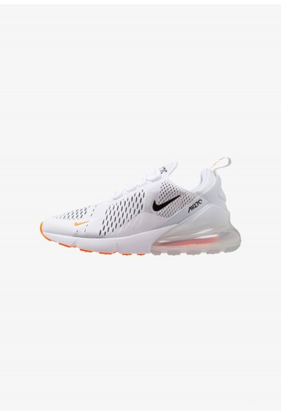 Nike AIR MAX 270 - Baskets basses white/black/total orange liquidation