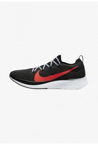 Nike ZOOM FLY FK - Chaussures de running neutres black/grey/red liquidation