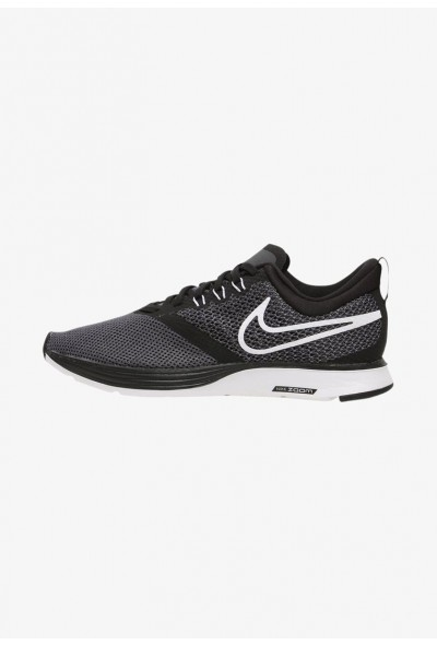Nike ZOOM STRIKE - Chaussures de running neutres black/dark grey/anthracite/white liquidation