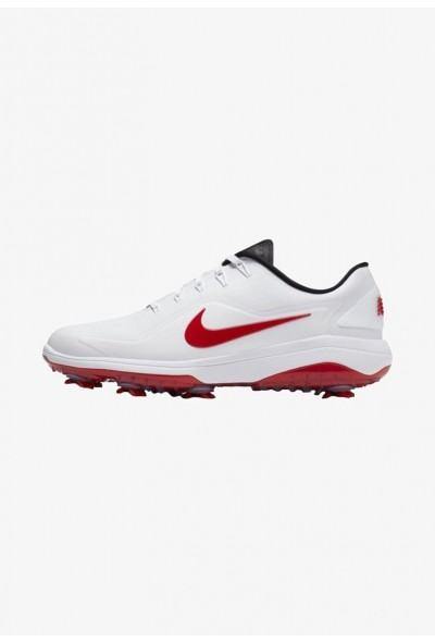 Black Friday 2020 | Nike REACT VAPOR  - Chaussures de golf  white/red liquidation