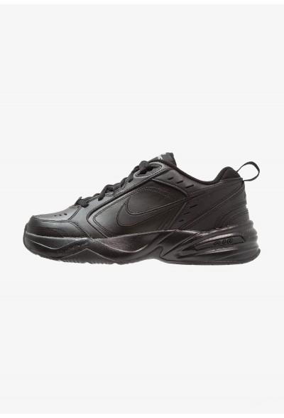 Nike AIR MONARCH IV - Baskets basses black liquidation
