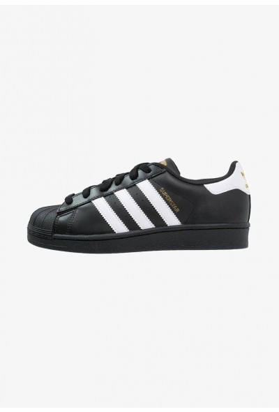 Adidas SUPERSTAR FOUNDATION - Baskets basses core black/white pas cher