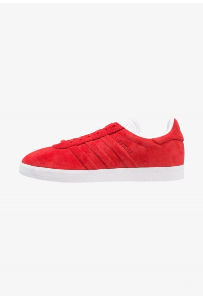 Adidas GAZELLE STITCH AND TURN - Baskets basses collegiate red/footwear white pas cher