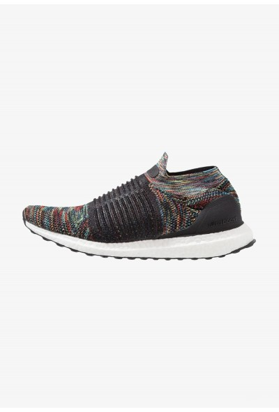 Adidas ULTRABOOST LACELESS - Chaussures de running neutres clear black/shock yellow/active red pas cher
