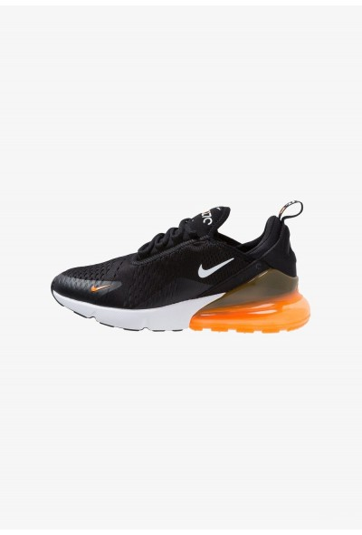Nike AIR MAX 270 - Baskets basses black/white/total orange liquidation