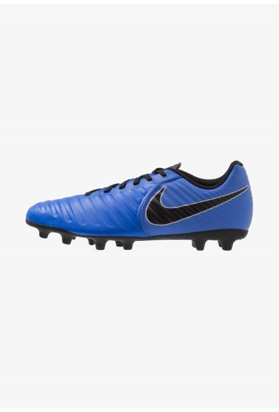 Nike TIEMPO LEGEND 7 CLUB MG - Chaussures de foot à crampons racer blue/black/wolf grey liquidation