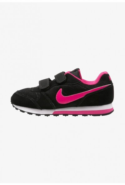 Nike MD RUNNER 2 - Baskets basses black/vivid pink/white liquidation
