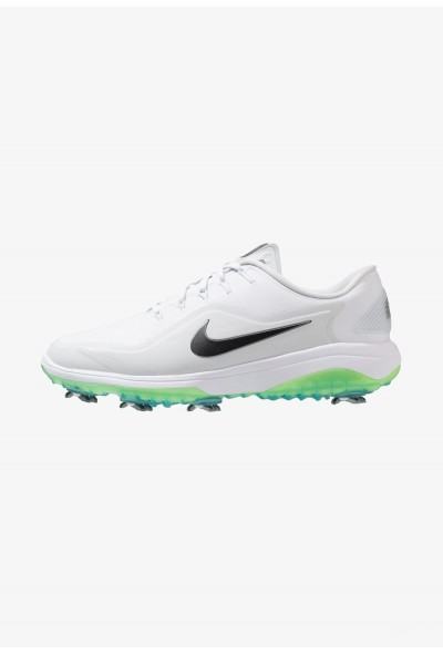 Nike REACT VAPOR  - Chaussures de golf white/medium grey/pure platinum/volt glow liquidation