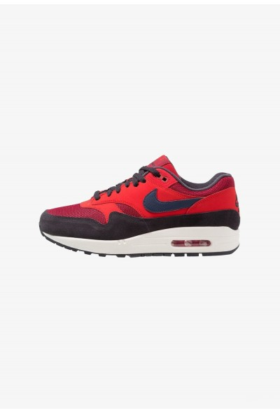 Nike AIR MAX 1 - Baskets basses red crush/midnight navy/universal red/oil grey/sail liquidation