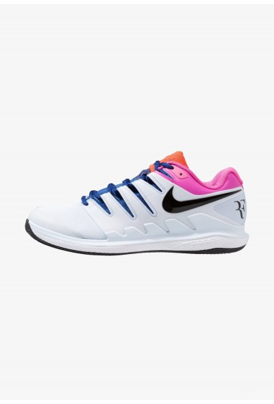 Nike AIR ZOOM VAPOR X CLAY - Chaussures de tennis sur terre battue half blue/black/white/laser fuchsia/bright crimson/indigo force liquidation