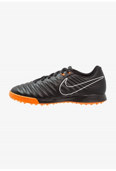 Nike LEGENDX 7 ACADEMY TF - Chaussures de foot multicrampons black/total orange/white  liquidation