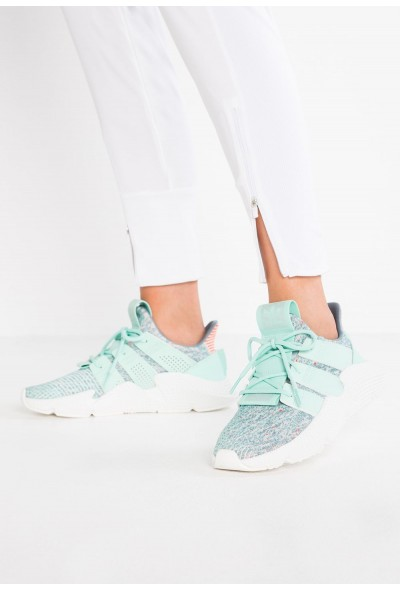 Adidas PROPHERE - Baskets basses clear mint/solar red pas cher