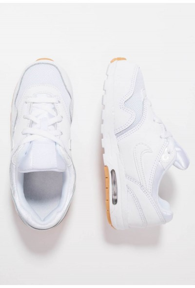 Nike AIR MAX 1 - Baskets basses white/light brown liquidation