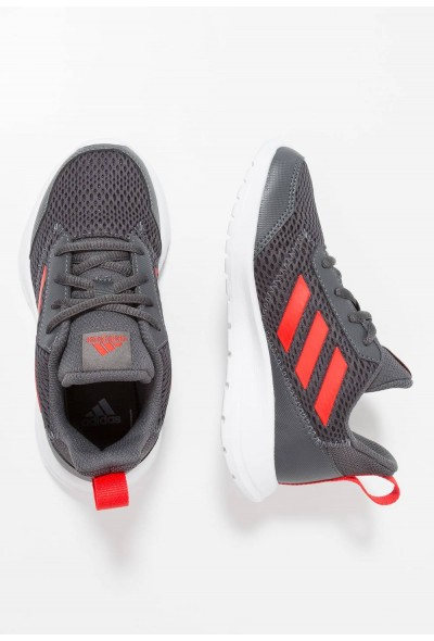 Adidas ALTARUN - Chaussures de running neutres grey six/active red/footwear red pas cher