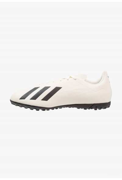 Adidas X TANGO 18.4 TF - Chaussures de foot multicrampons offwhite/core black pas cher