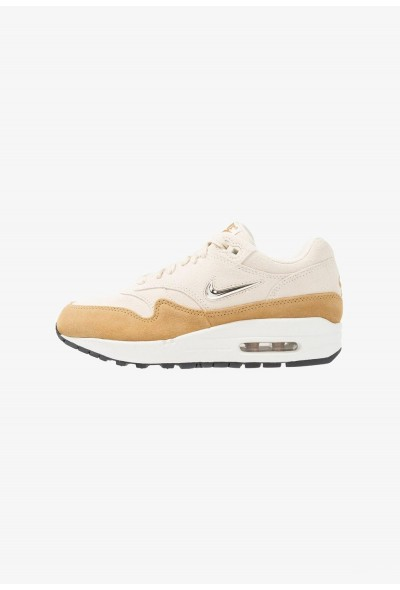 Nike AIR MAX 1 - Baskets basses beach/metallic gold grain/muted bronze liquidation