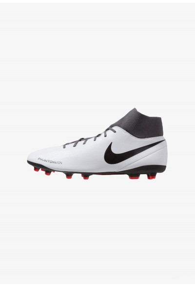 Nike PHANTOM OBRA 3 CLUB DF MG - Chaussures de foot à crampons wolf grey/black/light crimson liquidation