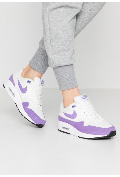 Nike AIR MAX 1 - Baskets basses summit white/atomic violet/black liquidation