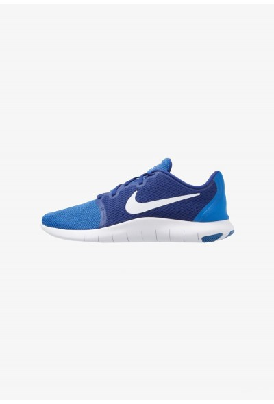 Nike FLEX CONTACT 2 - Chaussures de running compétition deep royal blue/white/signal blue liquidation