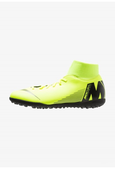 Black Friday 2020 | Nike SUPERFLYX 6 CLUB TF - Chaussures de foot multicrampons volt/black liquidation