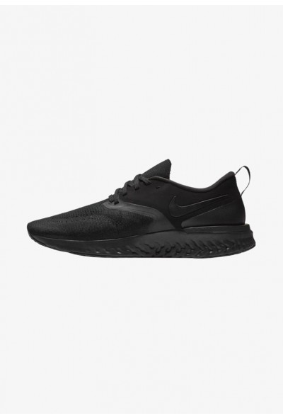 Nike ODYSSEY REACT 2 FLYKNIT - Chaussures de running neutres black/white liquidation