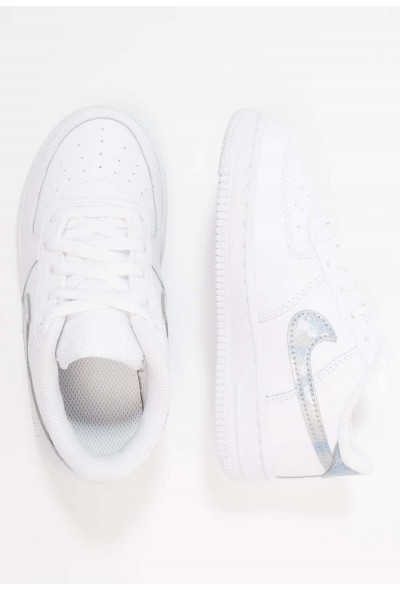 Nike NIKE FORCE 1 (TD) - Baskets basses white/royal tint liquidation
