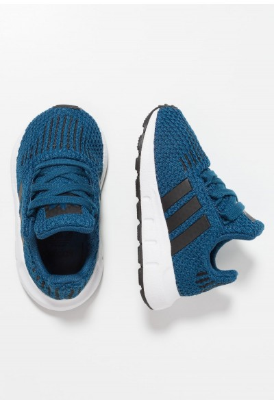 Adidas SWIFT RUN - Chaussures premiers pas legend marine/core black/footwear white pas cher