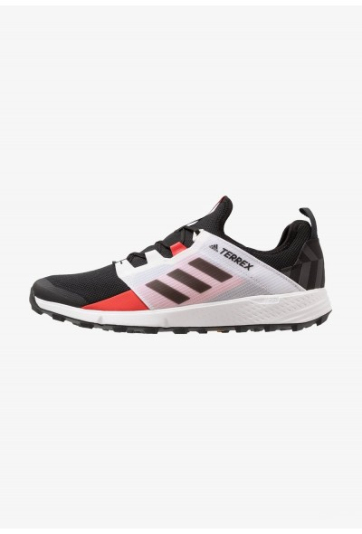 Adidas TERREX AGRAVIC SPEED - Chaussures de marche core black/active red pas cher