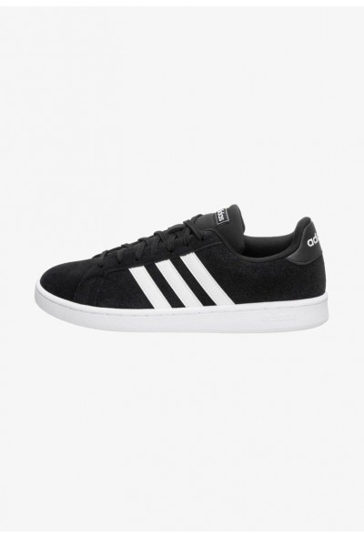 Adidas Baskets basses core black/footwear white pas cher