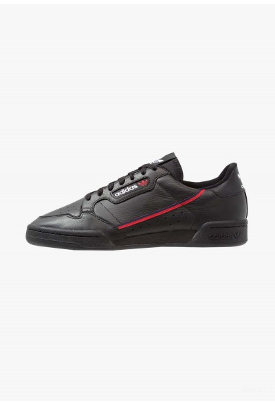 Adidas CONTINENTAL 80 - Baskets basses core black/scarlet/collegiate navy pas cher