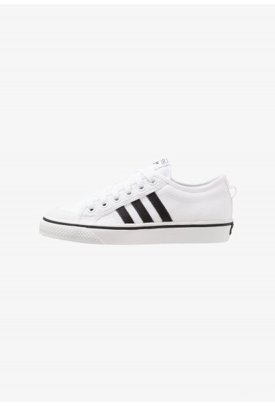 Adidas NIZZA - Baskets basses footwear white/core black/crystal white pas cher
